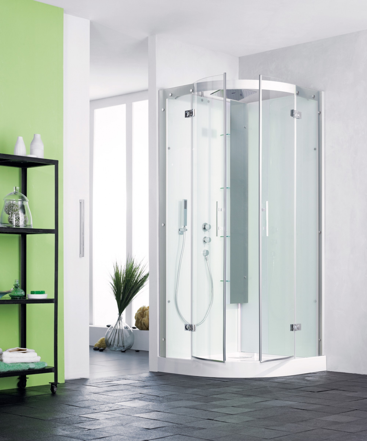 cabine de douche new horizon kinedo induscabel salle de bains chauffage et cuisine. Black Bedroom Furniture Sets. Home Design Ideas