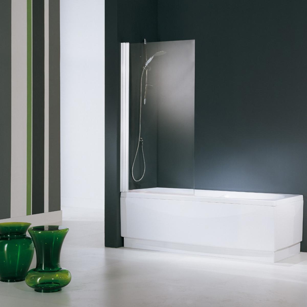 Pare bains aurora 1 novellini induscabel salle de bains chauffage et cuisine - Pare baignoire novellini ...