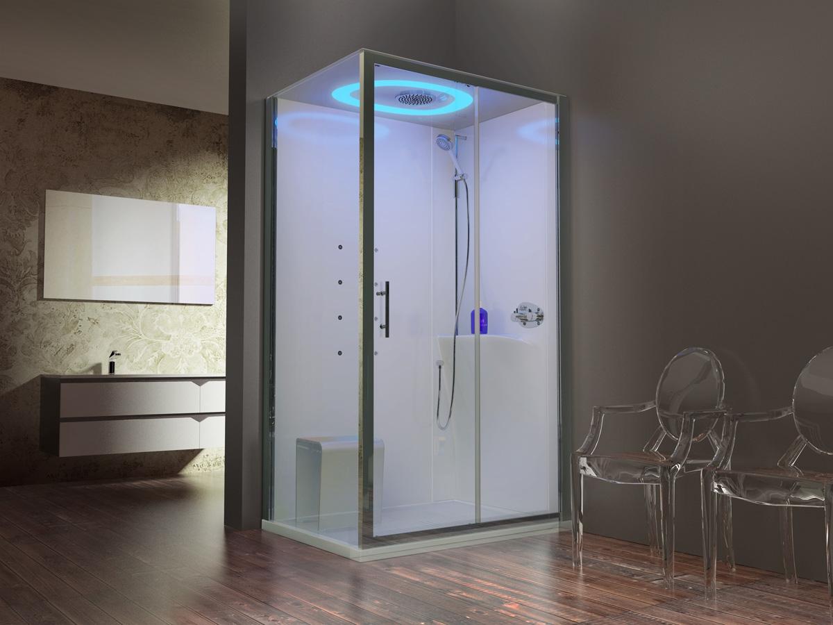 cabine de douche eon novellini induscabel salle de bains chauffage et cuisine. Black Bedroom Furniture Sets. Home Design Ideas