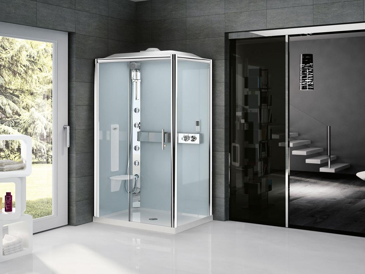 cabine de douche glax 3 novellini induscabel salle de bains chauffage et cuisine. Black Bedroom Furniture Sets. Home Design Ideas