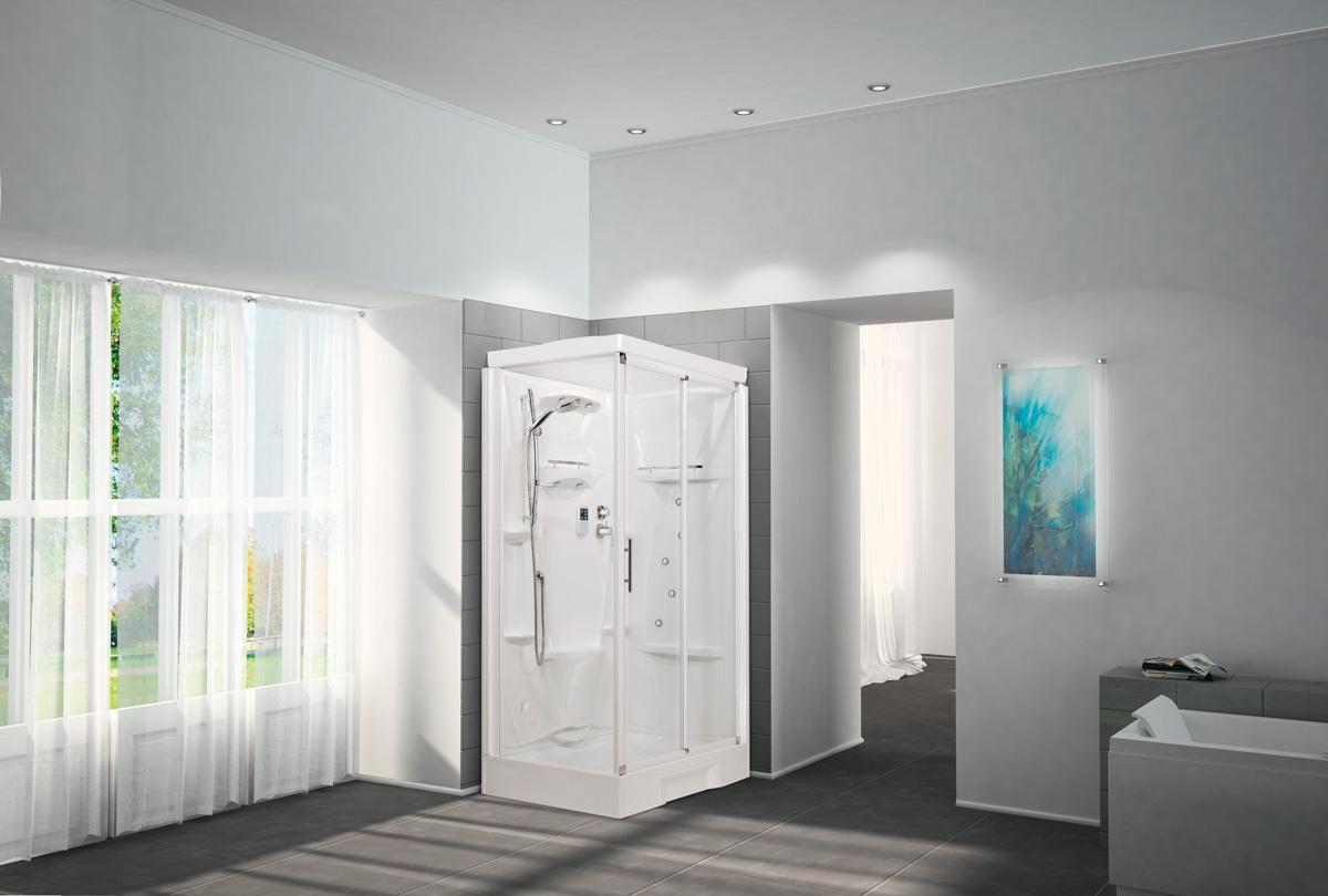 cabine de douche new holiday novellini induscabel salle de bains chauffage et cuisine. Black Bedroom Furniture Sets. Home Design Ideas