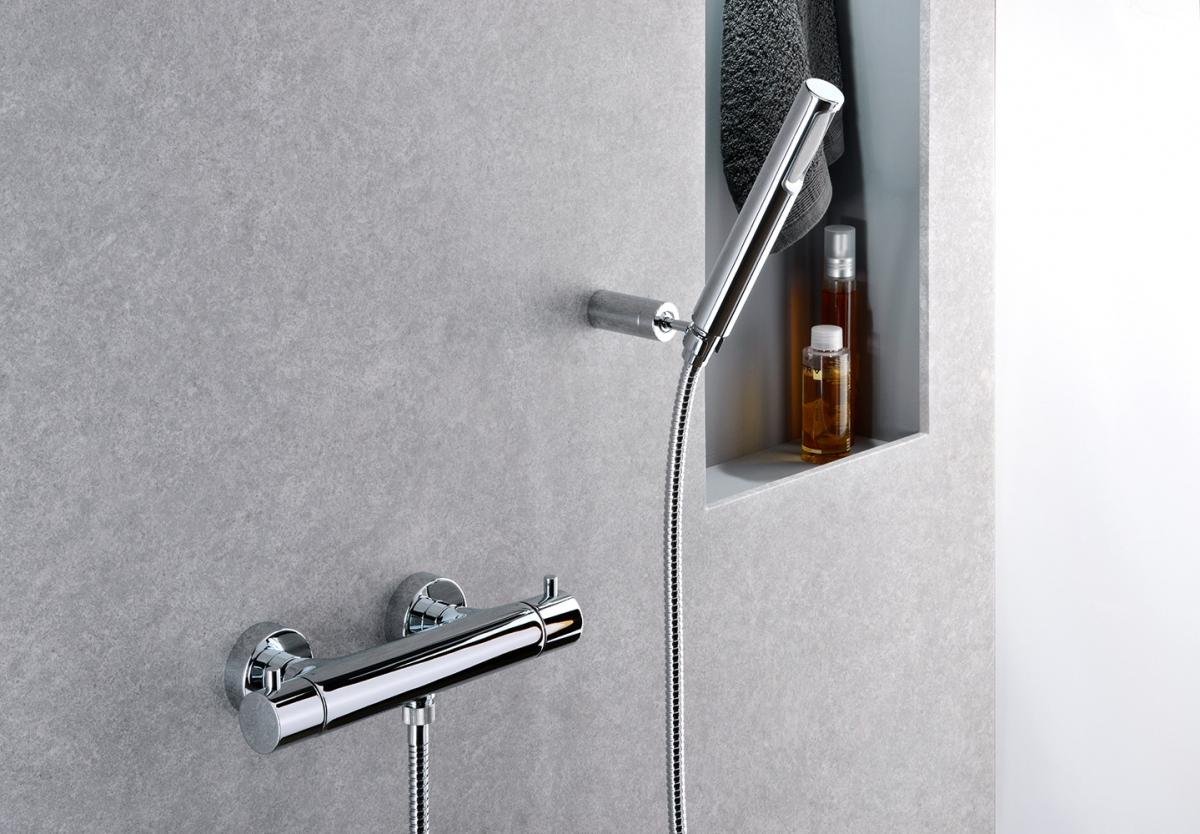 Mitigeur thermostatique douche evo paffoni induscabel salle de bains chauffage et cuisine - Mitigeur douche thermostatique ...