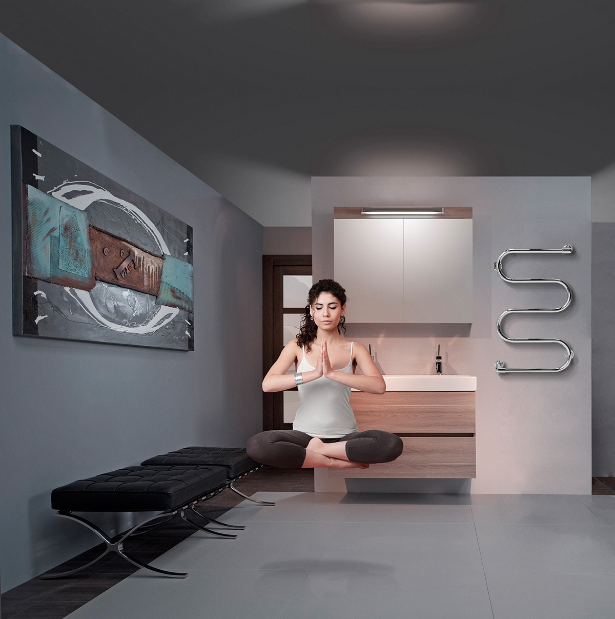 Sèche-serviettes électrique Athena SE - RADSON