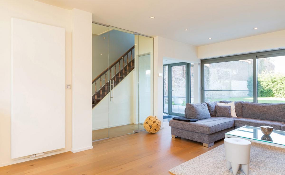 radiateur vertical kos v radson induscabel salle de. Black Bedroom Furniture Sets. Home Design Ideas