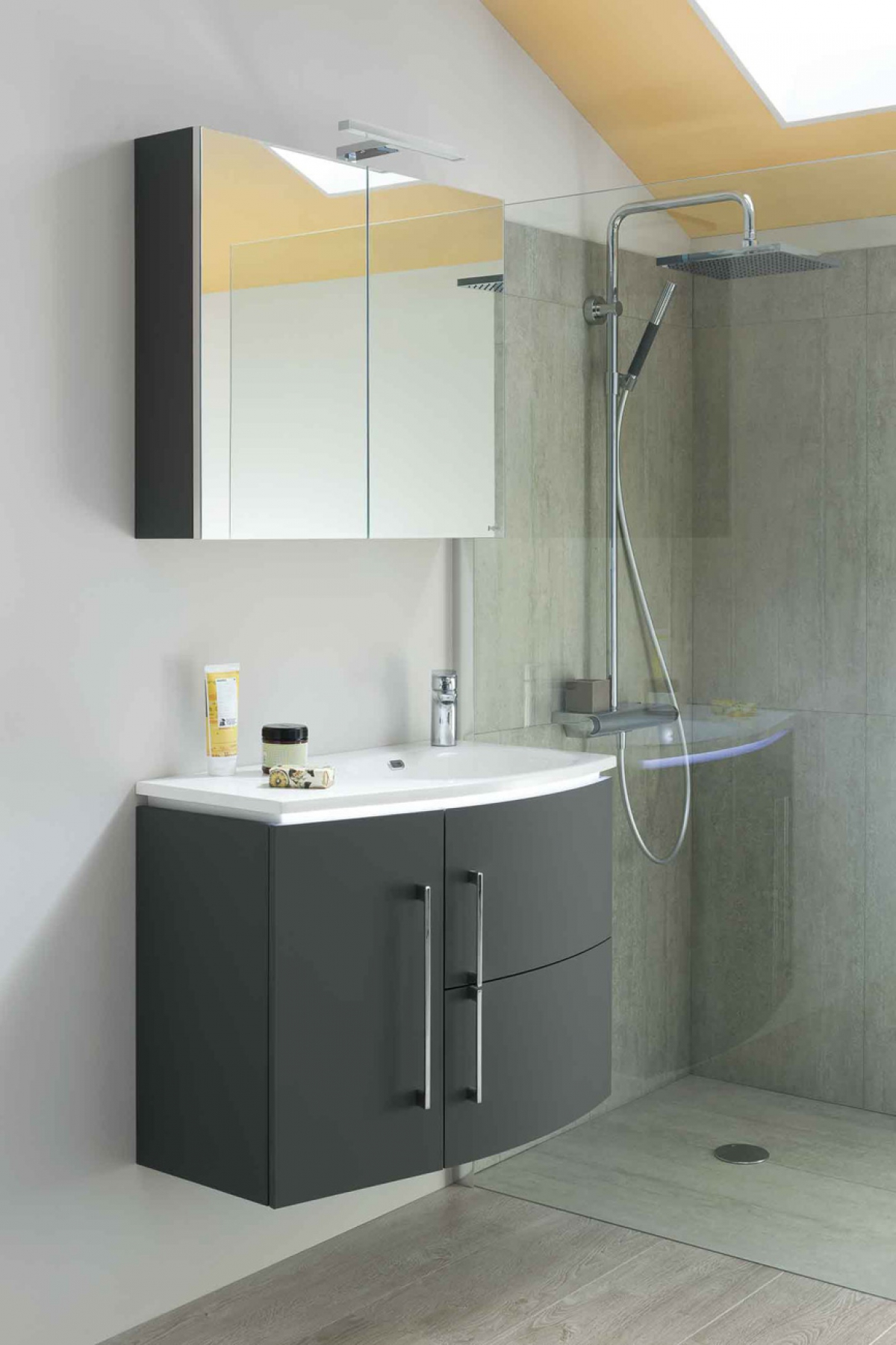 Table Vasque De Salle De Bain Excellent Vasques Bton U Inox Bross