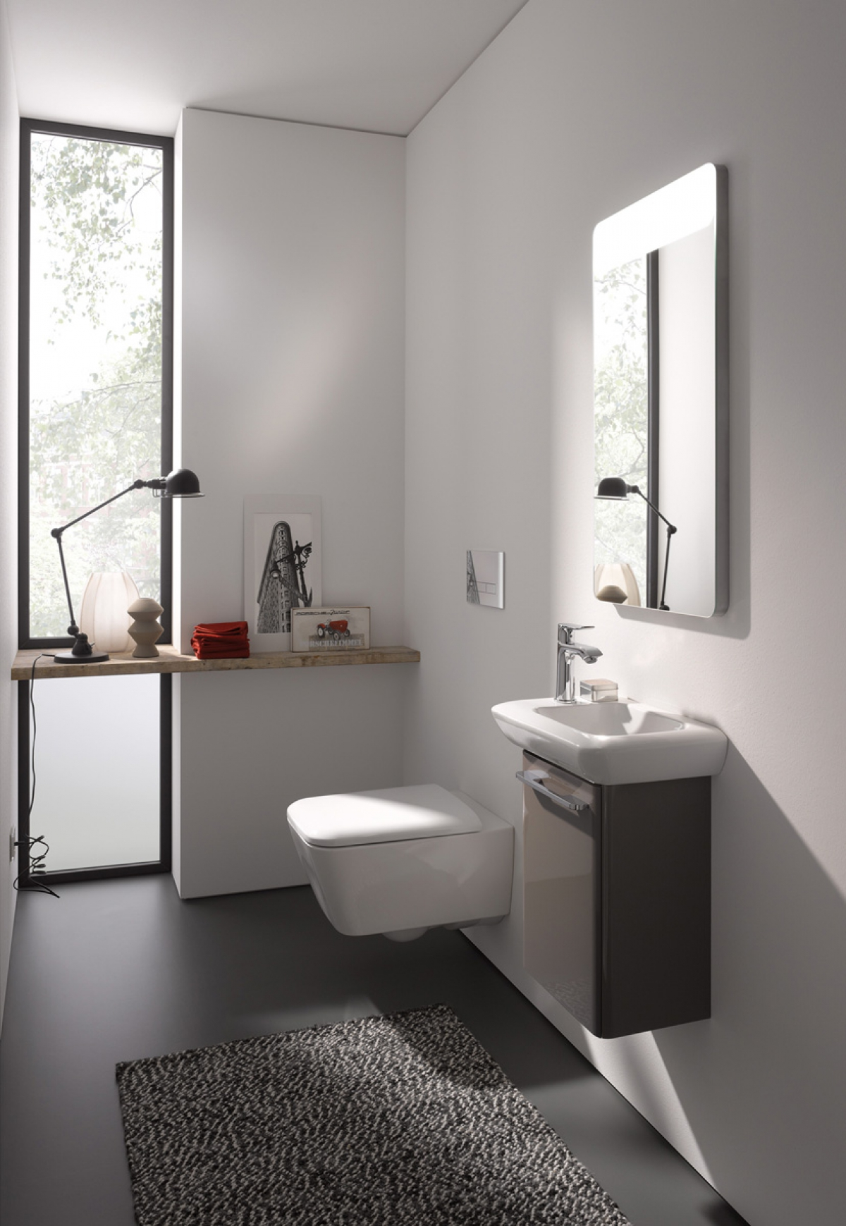 wc suspendu rimfree it keramag induscabel salle de bains chauffage et cuisine. Black Bedroom Furniture Sets. Home Design Ideas