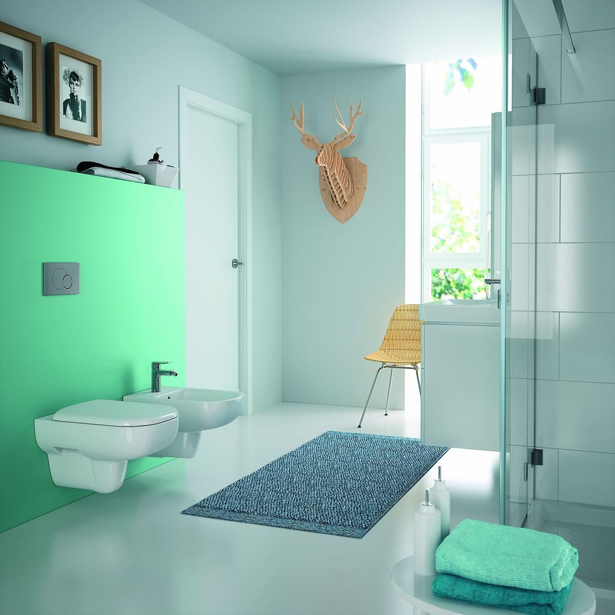 wc suspendu rimfree keramag induscabel salle de bains chauffage et cuisine. Black Bedroom Furniture Sets. Home Design Ideas