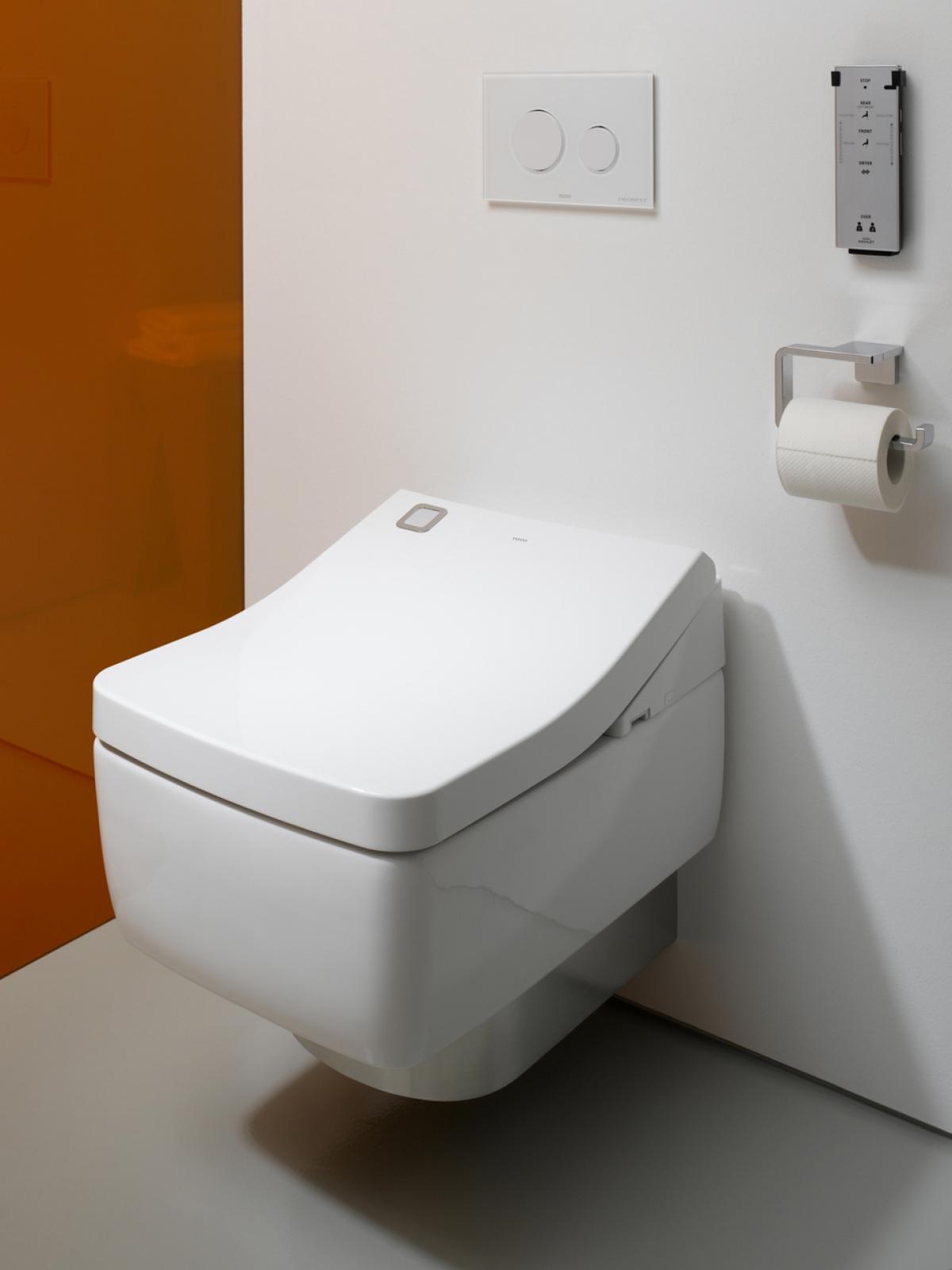 WC japonais intelligent design Washlet - TOTO | Induscabel, Salle de ...