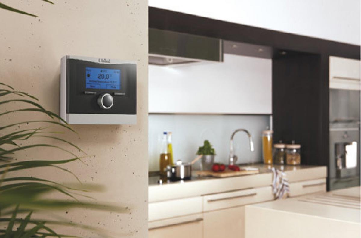 thermostat d 39 ambiance modulant calormatic vrt 370. Black Bedroom Furniture Sets. Home Design Ideas