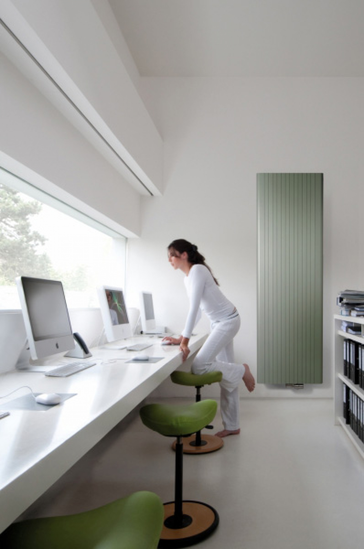 Radiateur vertical Alu Zen - VASCO