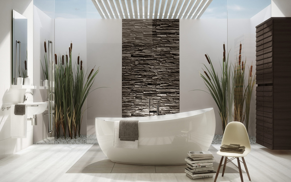 baignoire poser aveo villeroy boch induscabel. Black Bedroom Furniture Sets. Home Design Ideas