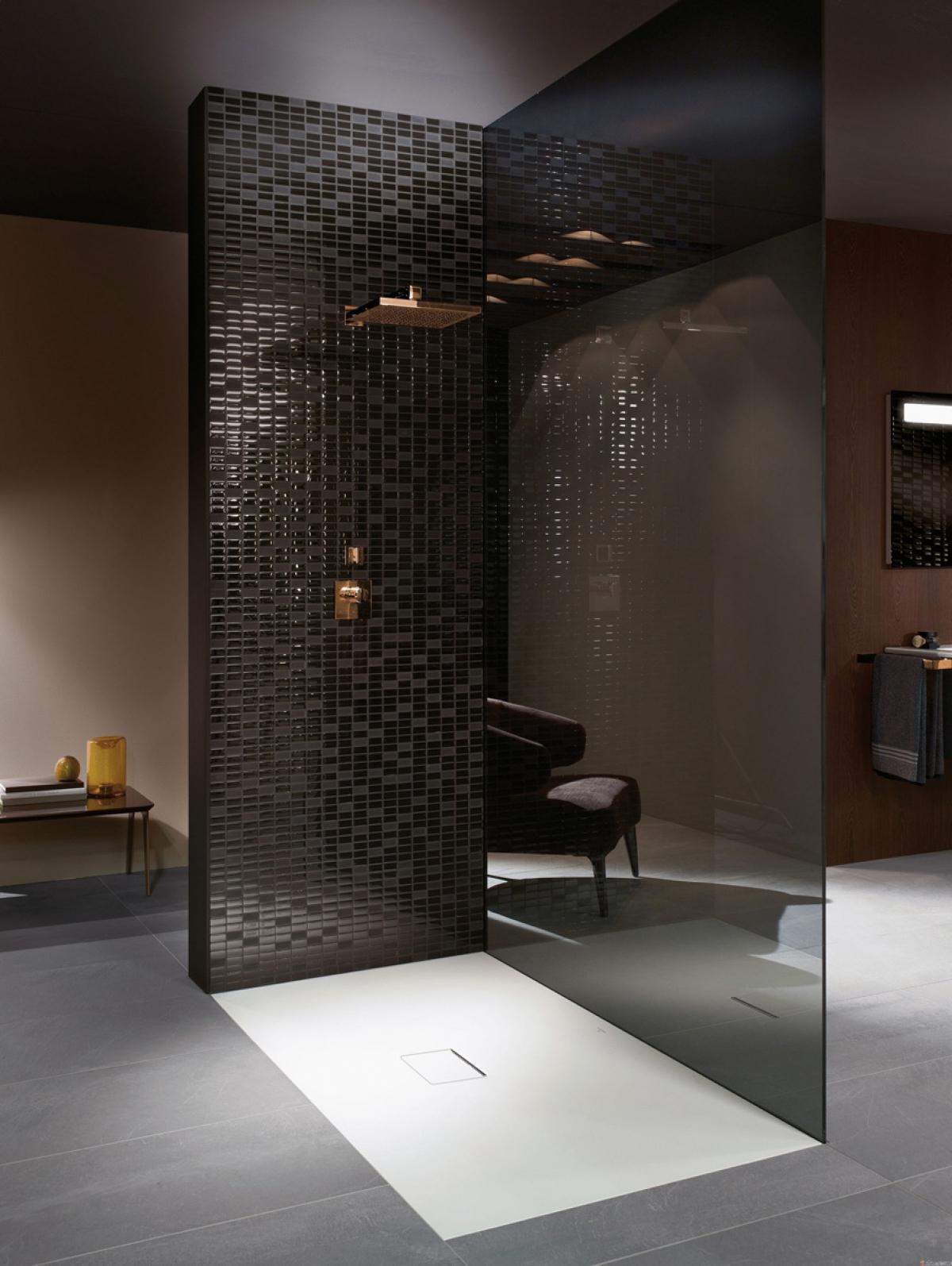 Receveur de douche squaro infinity villeroy boch for Villeroy et boch salle de bain showroom