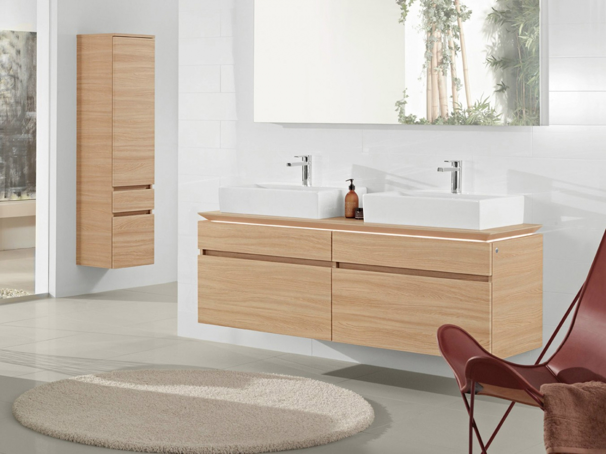 meubles et table vasque legato villeroy boch. Black Bedroom Furniture Sets. Home Design Ideas