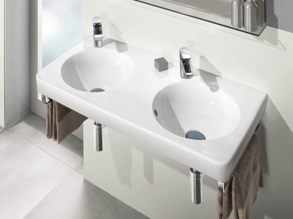 Lavabo joyce villeroy boch induscabel salle de for Villeroy et boch salle de bain showroom