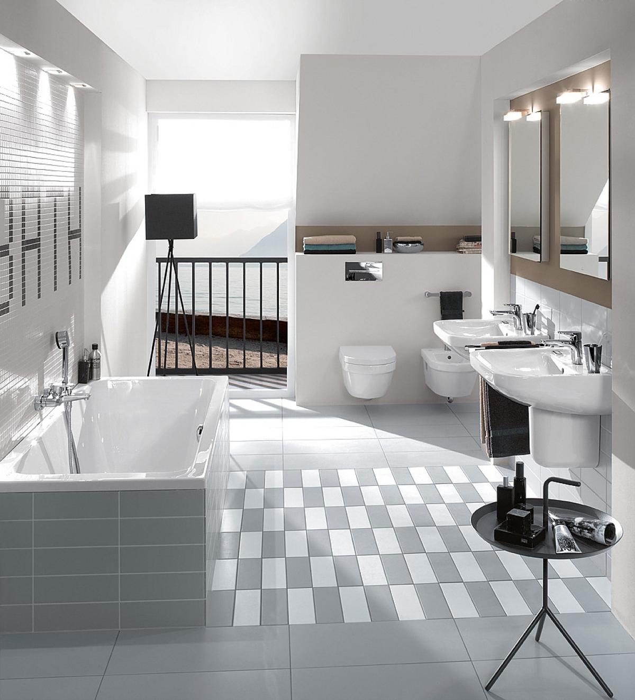 Lavabo omnia architectura villeroy boch induscabel for Villeroy et boch salle de bain showroom