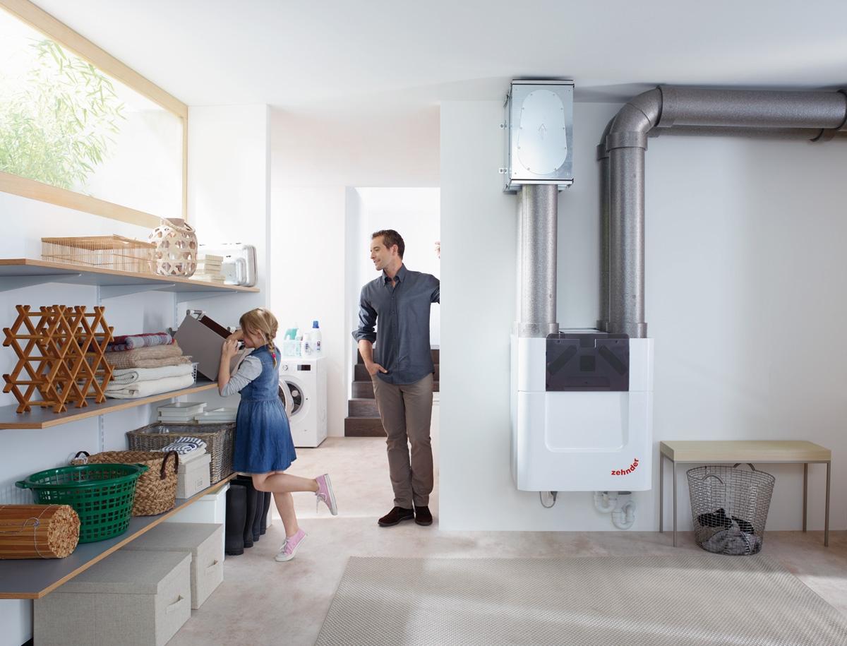 ventilation m canique contr l e double flux comfoair q. Black Bedroom Furniture Sets. Home Design Ideas
