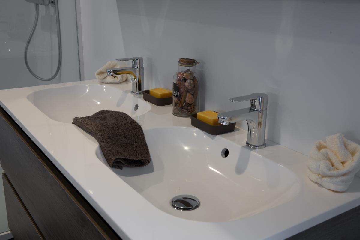 Double table vasque Kira - ZENID