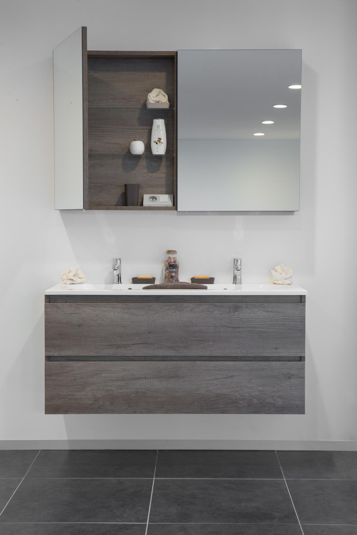 meubles de salle de bains kira zenid induscabel salle de bains chauffage et cuisine. Black Bedroom Furniture Sets. Home Design Ideas