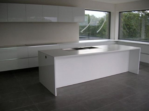 Plan de travail en corian - Actual Product