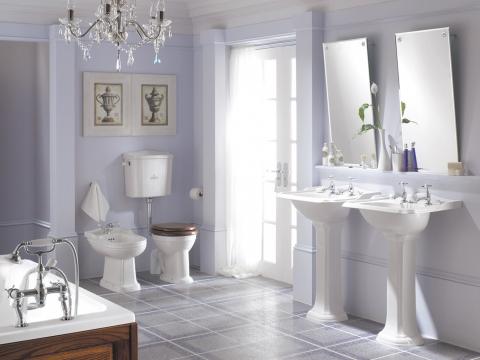le lavabo, un meuble de salle de bains à part entière | induscabel ... - Lavabo Retro Salle De Bain
