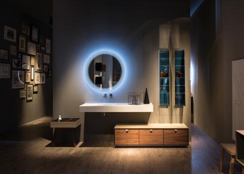 Meubles et table vasque Dama - ARTELINEA