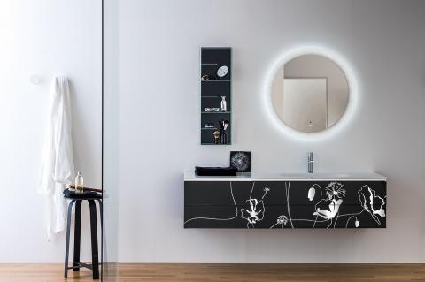 Meubles et table vasque Monolite Più - ARTELINEA