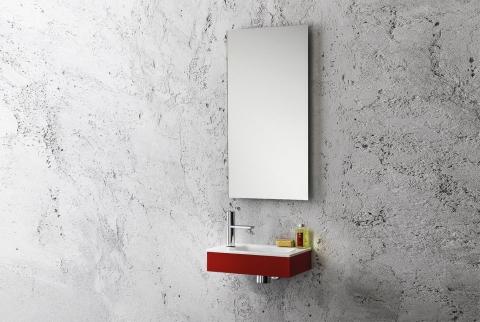 Ensemble lave-mains et miroir Zen - ARTELINEA
