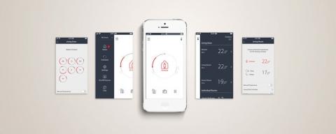vannes thermostatiques programmables sonde d port e sans fil distance induscabel salle. Black Bedroom Furniture Sets. Home Design Ideas