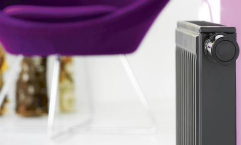 Vannes thermostatiques électroniques RAX Chromé - DANFOSS