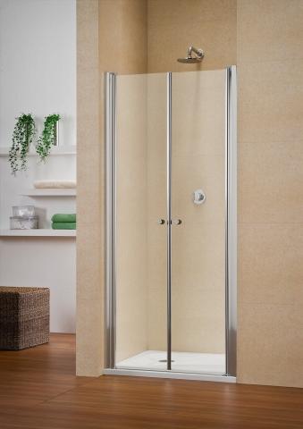 Porte à deux battants de douche Multi S 4000 - DUKA