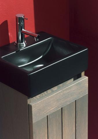 Ensemble lave-mains et miroir Base Terra - F&F
