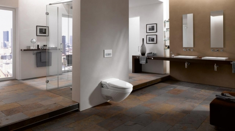 WC suspendu AquaClean 8000 - GEBERIT
