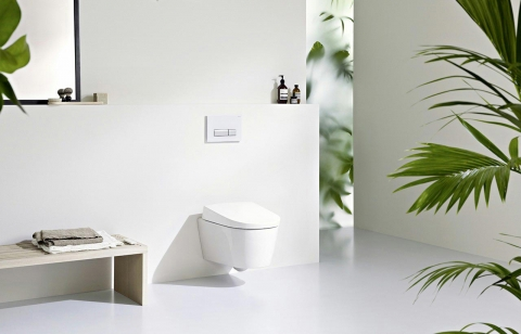 WC suspendu AquaClean Sela - GEBERIT