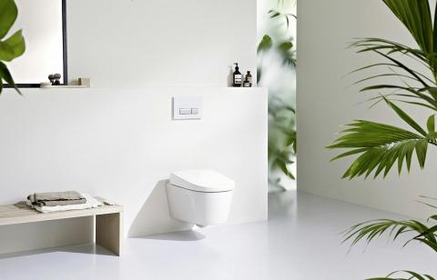 WC suspendu AquaClean Sela - GEBERIT