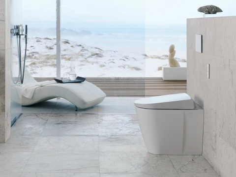 WC à poser AquaClean - GEBERIT