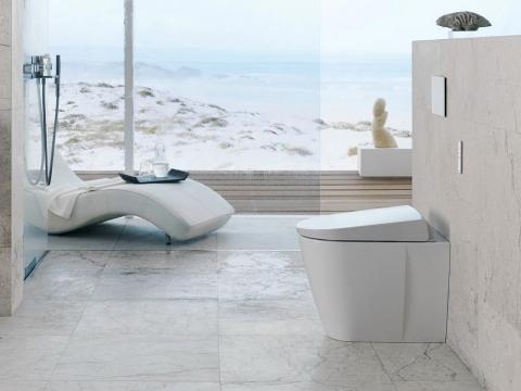 WC à poser AquaClean - GEBERIT