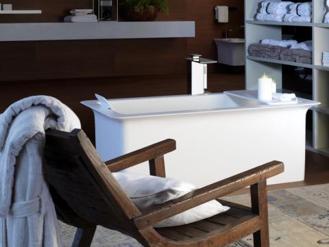 Mitigeur design pour baignoire iSpa - GESSI
