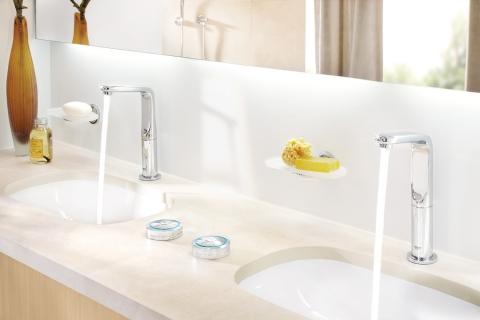 Mitigeur lavabo Allure et commande numérique sans fil Veris F-Digital - GROHE