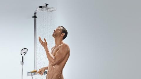 Robinetterie de douche RainDance Select - HANSGROHE
