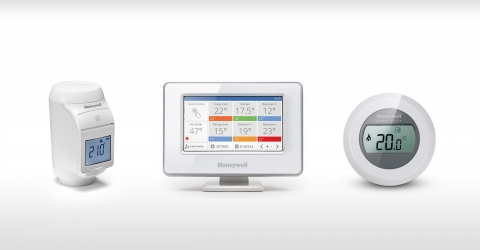 Thermostats d'ambiance connectés EvoHome & Round - HONEYWELL