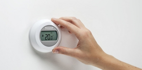 Thermostat d'ambiance connecté Round - HONEYWELL