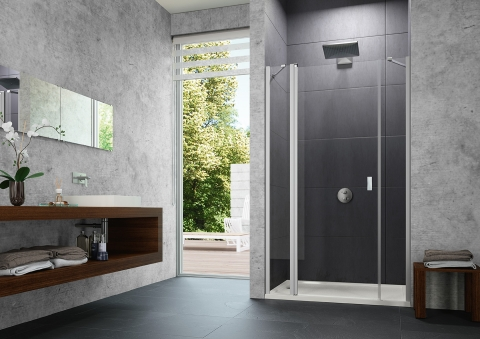 Porte de douche New Design Pure - HUPPE