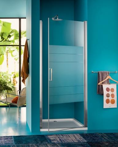 Porte battante de douche Clair Design - INDA