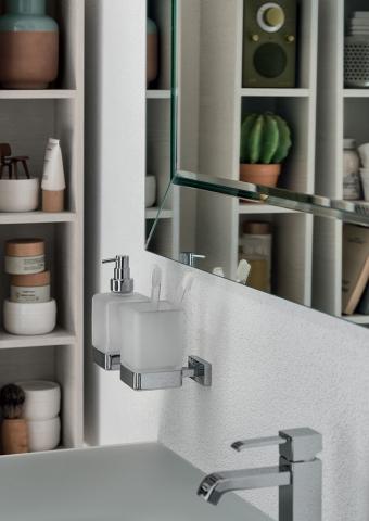 Accessoires de salle de bains - Porte-serviette, porte-savon ...