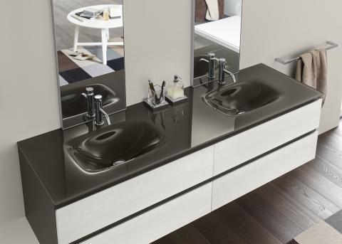 Meubles et table vasque Perfetto - INDA
