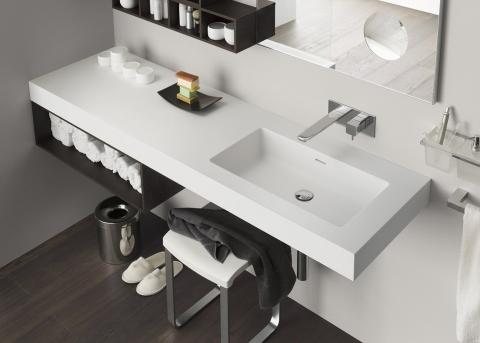 Meubles et table vasque Perfetto Plus - INDA