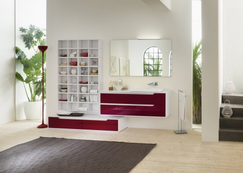 Meubles et table vasque Prestige - INDA