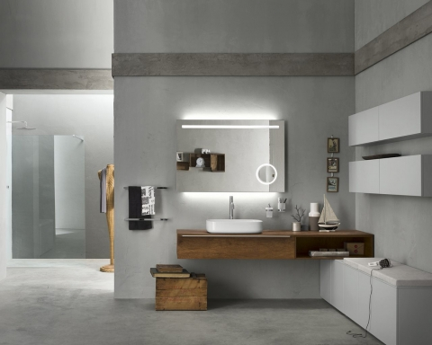 Meubles et vasque Progetto - INDA