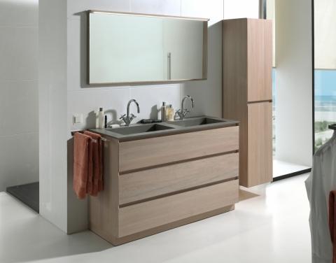Meuble Chablis pour salle de bains - OAK4U