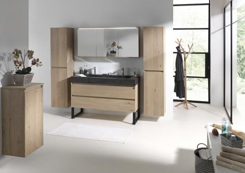 Meuble et vasque salle de bains Chablis - OAK4U